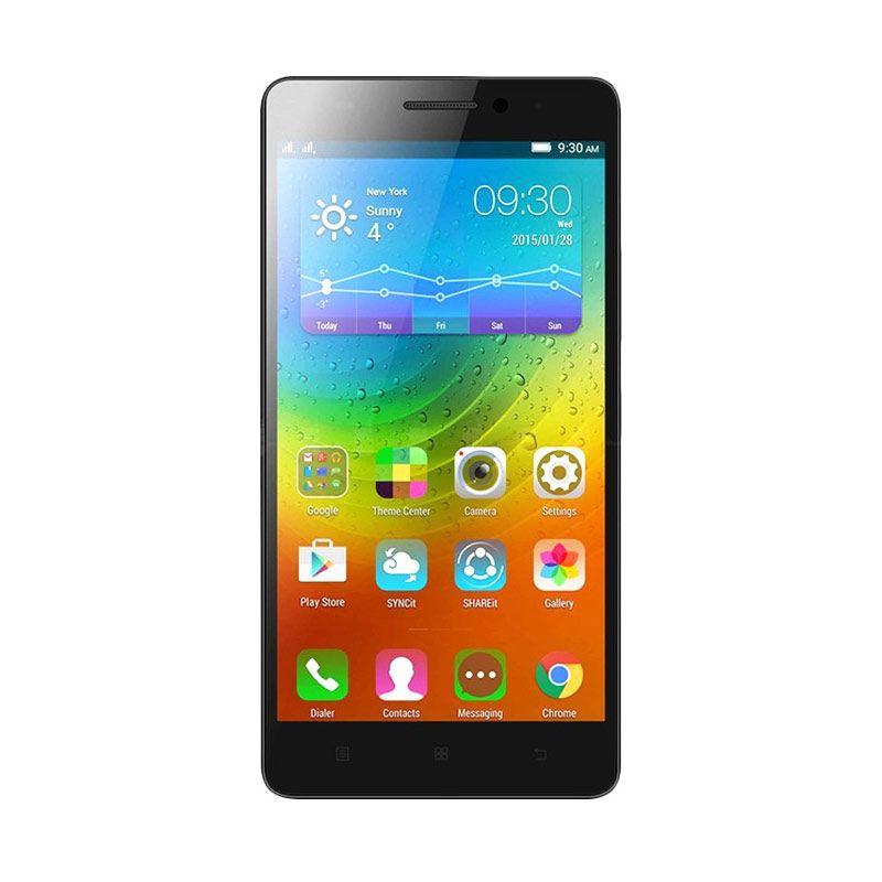 Lenovo A7000 Plus Special Edition Smartphone - Hitam [16GB/ 2GB] + Free Hardcase dan Screen Protector