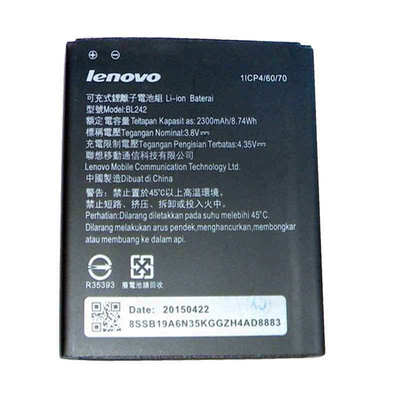 Lenovo Original BL242 Baterai for Lenovo A6000
