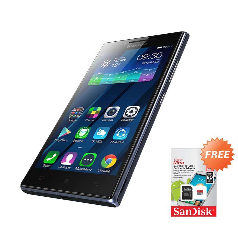 harga Lenovo P70 Midnight Blue Smartphone + Micro SD [16 GB] Blibli.com