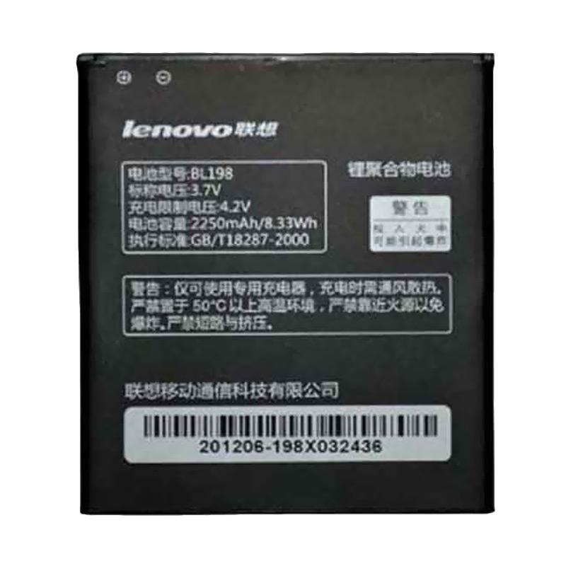 Lenovo BL198 Li Polymer Baterai for Lenovo S880/K860/A830/S890