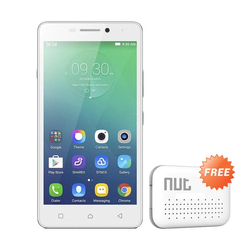 harga Lenovo Vibe P1M Smartphone - White + Nut Mini Tracker Blibli.com