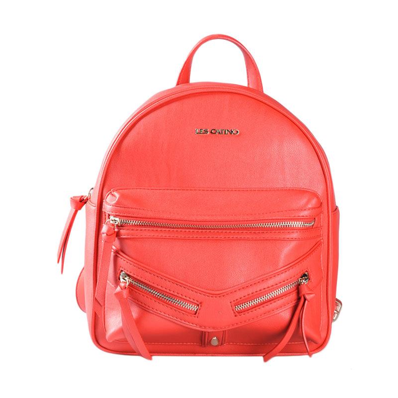 Les Catino Marciani Backpack Tas Wanita - Red