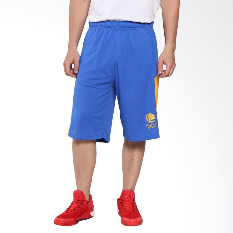 Levelwear NBA Golden State Warriors Biru Celana Basket Pria (JP61L-Warriors)