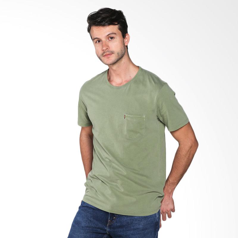 Levi's SS Sunset Pocket Tee Vineyard Green 15798-0073 Kaos Pria Extra diskon 7% setiap hari Citibank – lebih hemat 10% Extra diskon 5% setiap hari
