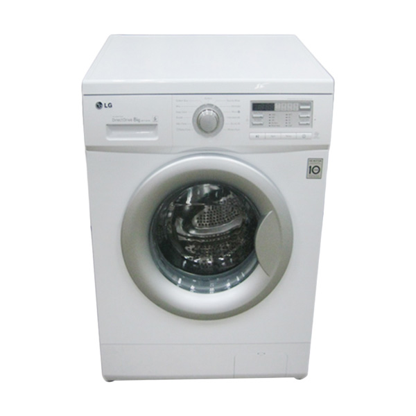 LG F1007NPPW Front Loading Mesin Cuci [7 kg]
