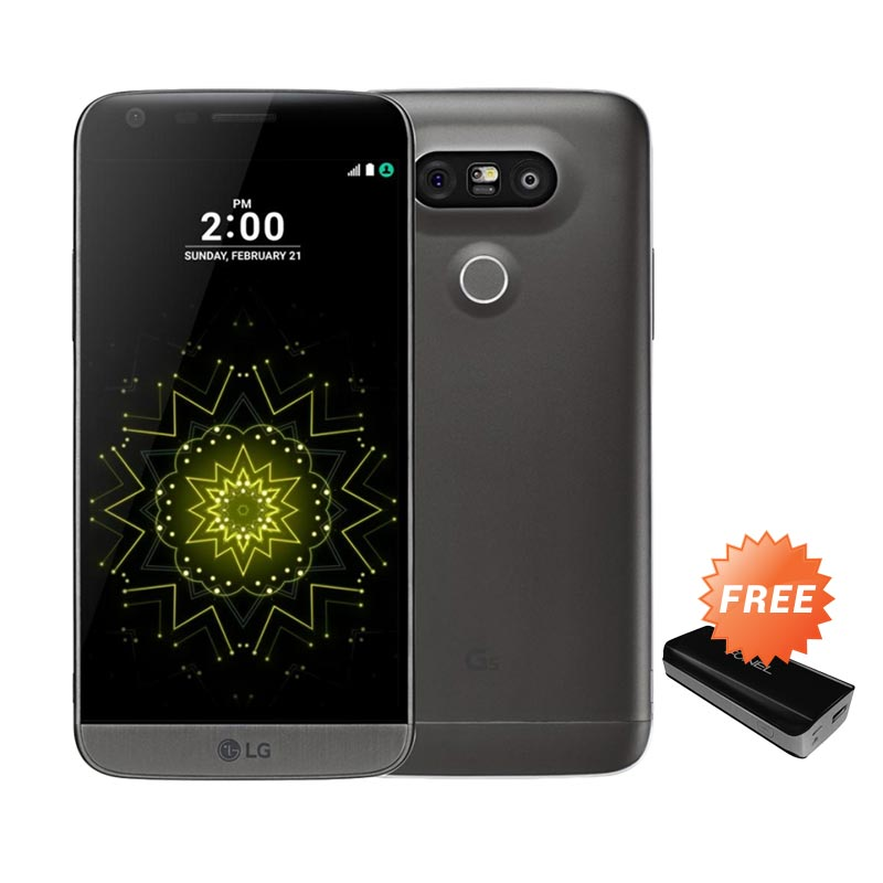 ... Selfie Expert 4g 32gb Rose Gold Free Power Bank Robot Source · OPPO F1. Source · LG G5 SE Smartphone - Titanium + Free Fonel Power Bank Mattex 5600 mAH