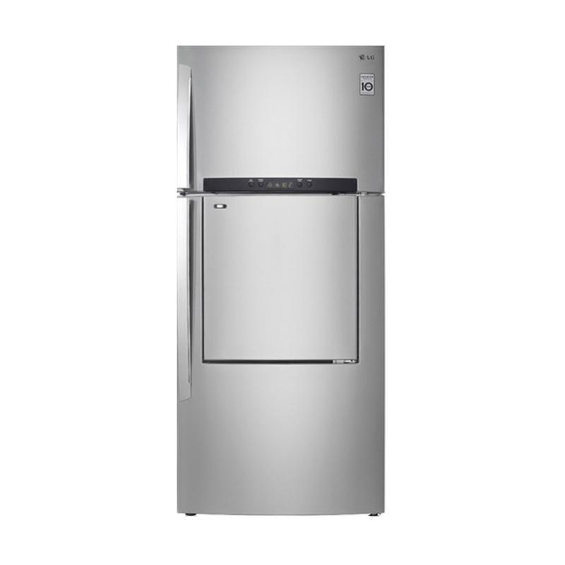LG GN-D702HLAL Kulkas [Door in Door/425L]