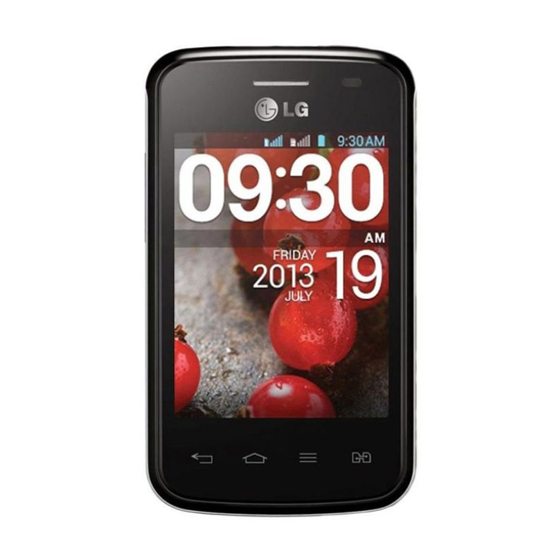 harga LG L1 II E410 Smartphone - Black Blibli.com
