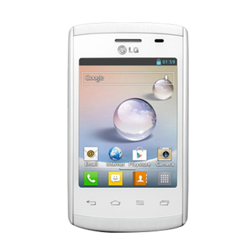 harga LG L1 II E410 Smartphone - White Blibli.com