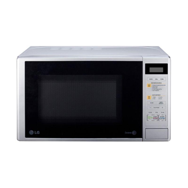 LG Microwave MH6042D Putih Grill [20 L]