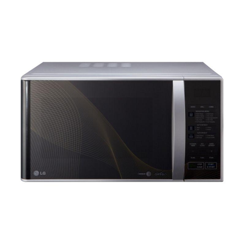 LG Microwave MH6843BAK Grill Microwave - Black [28 Liter]