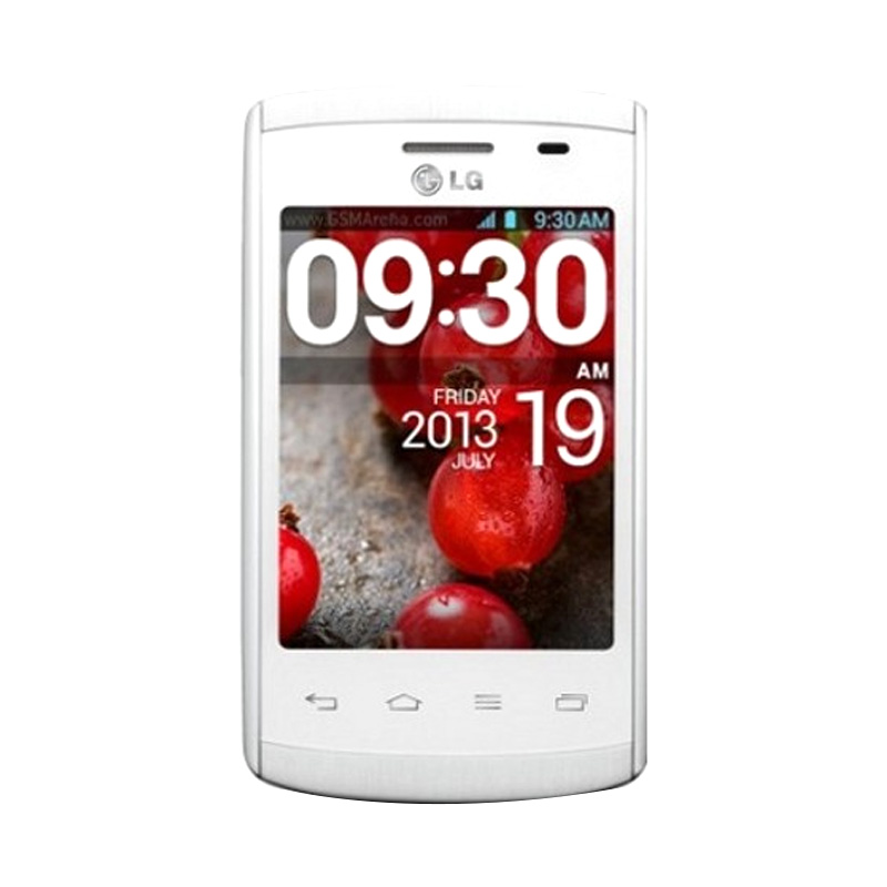 harga LG Optimus L1 II Dual E420 Putih Smartphone + JellyCase Blibli.com