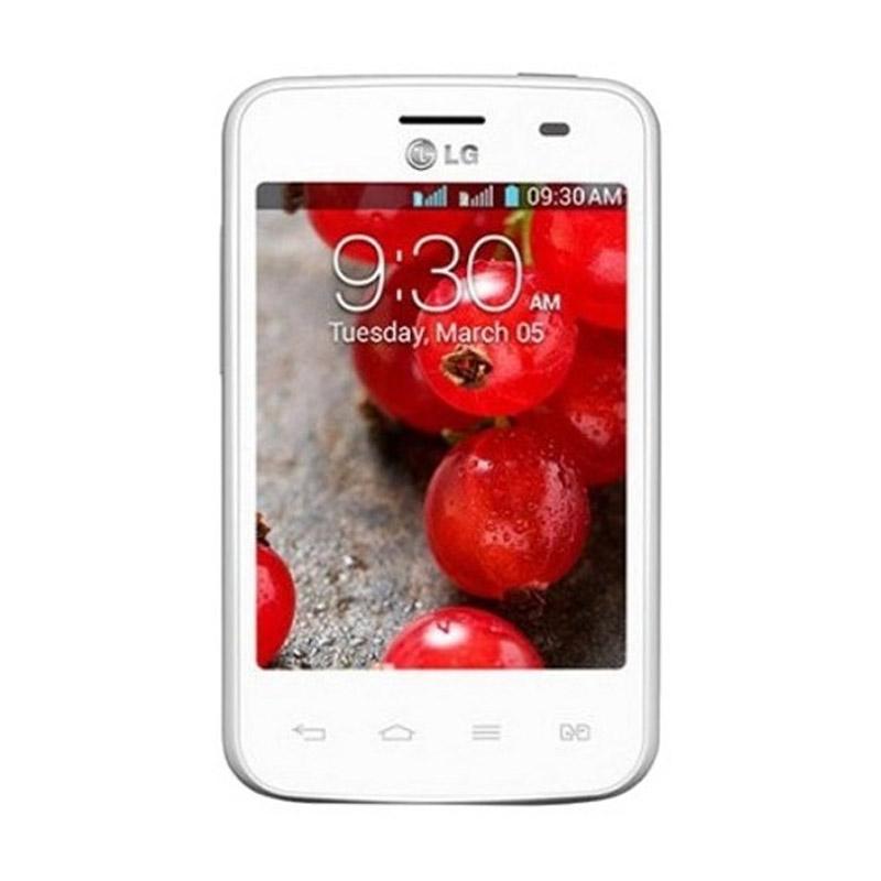 harga LG Optimus L1 II Dual E420 Putih Smartphone + SupriseBox Blibli.com