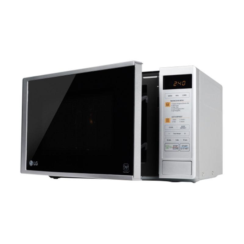LG MH6042D Grill Microwave - Putih [20 L]