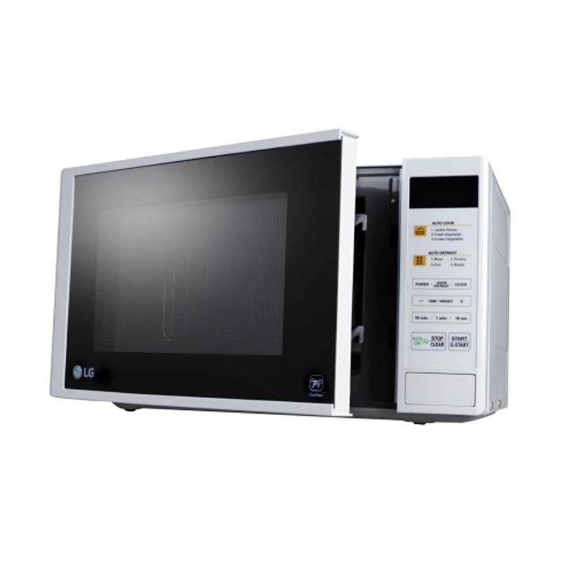 LG Microwave Counter Top MS2042D Putih Solo [20 L]