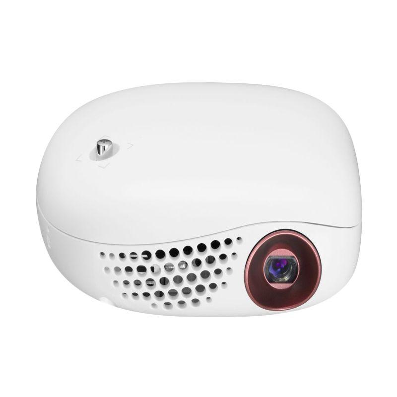 harga LG Mini Beam Nano Portable PV150G Putih Smart Projector Blibli.com