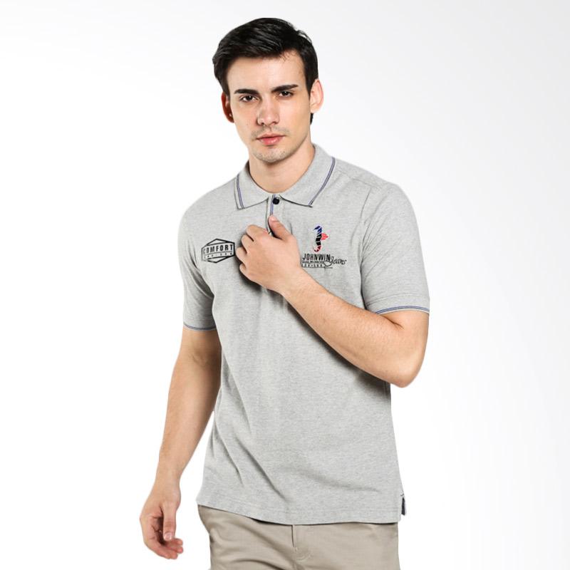 LGS Regular Fit FTS.625.M033.21.C Logo Gray Polo Shirt Extra diskon 7% setiap hari Extra diskon 5% setiap hari Citibank – lebih hemat 10%