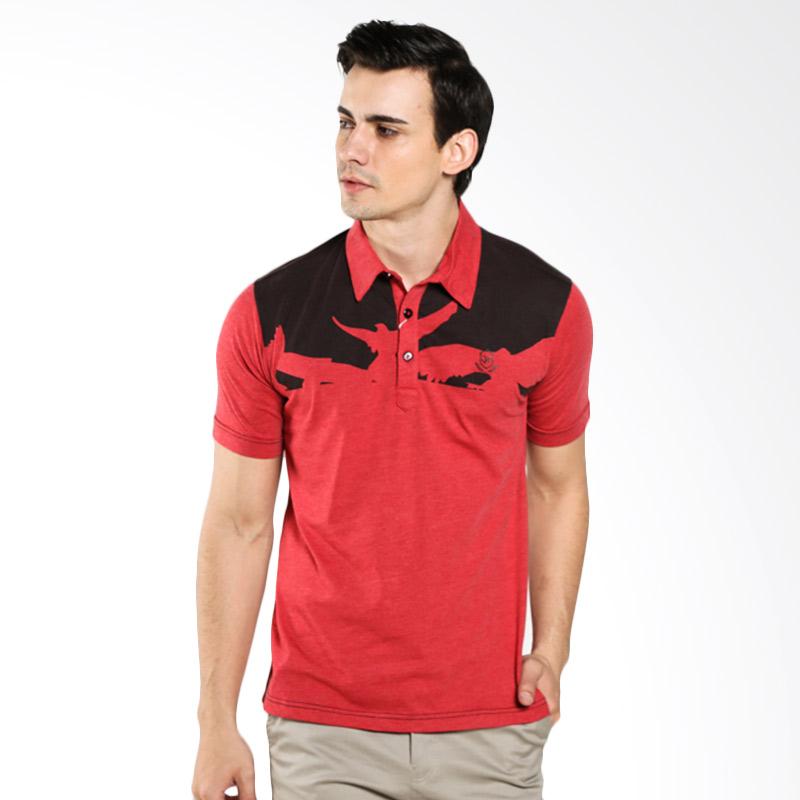 LGS Slim Fit Bird ATS.625.M113.01.C Red Polo Shirt Extra diskon 7% setiap hari Extra diskon 5% setiap hari Citibank – lebih hemat 10%
