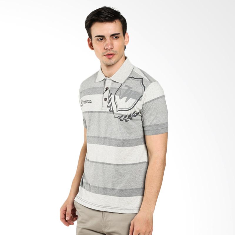 LGS Slim Fit ATS.624.M028.01.C White Gray Polo Shirt Extra diskon 7% setiap hari Extra diskon 5% setiap hari Citibank – lebih hemat 10%