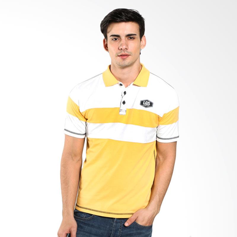 LGS Slim Fit Color Striped JTS.324.M1903F.02.C Yellow White Polo Shirt Extra diskon 7% setiap hari Extra diskon 5% setiap hari Citibank – lebih hemat 10%