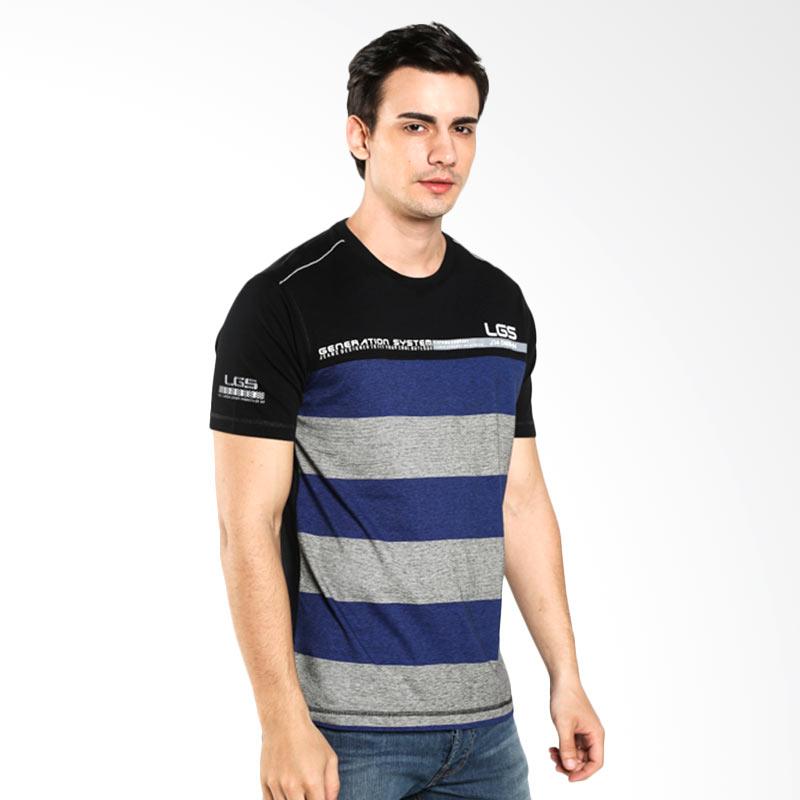 LGS Slim Fit Stripe JTS.323.M1915F.01.C Black Kaos Pria Extra diskon 7% setiap hari Extra diskon 5% setiap hari Citibank – lebih hemat 10%