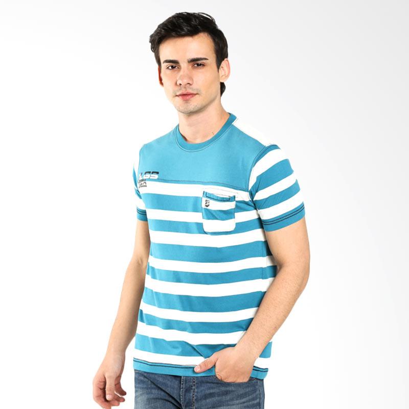 LGS Slim Fit Stripe JTS.323.M1801F.01.C Blue Kaos Pria Extra diskon 7% setiap hari Extra diskon 5% setiap hari Citibank – lebih hemat 10%