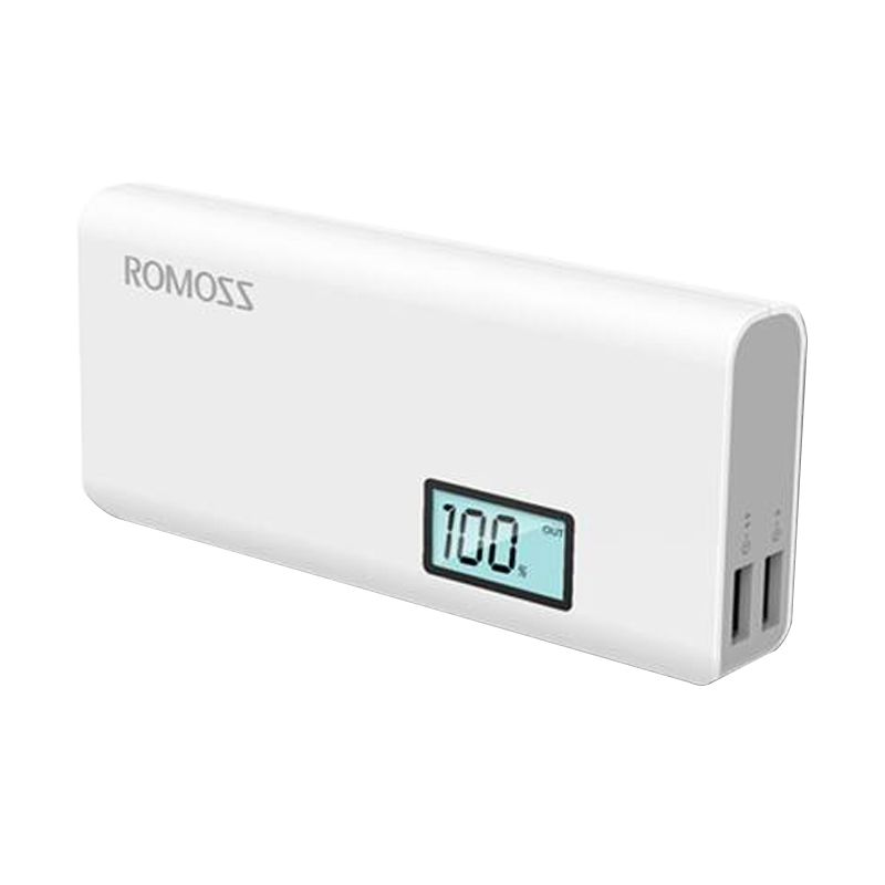 Romoss SOLO 5 Plus Digital White Powerbank [10.000 mAh]