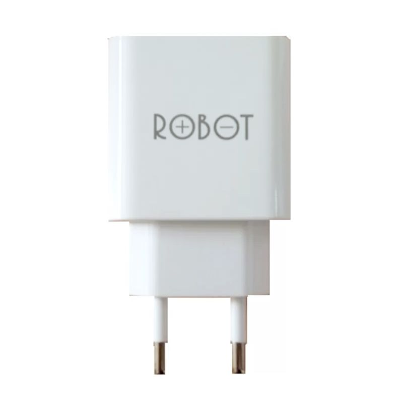 Vivan Robot RTC04 Dual Output White Adaptor Fast Charger