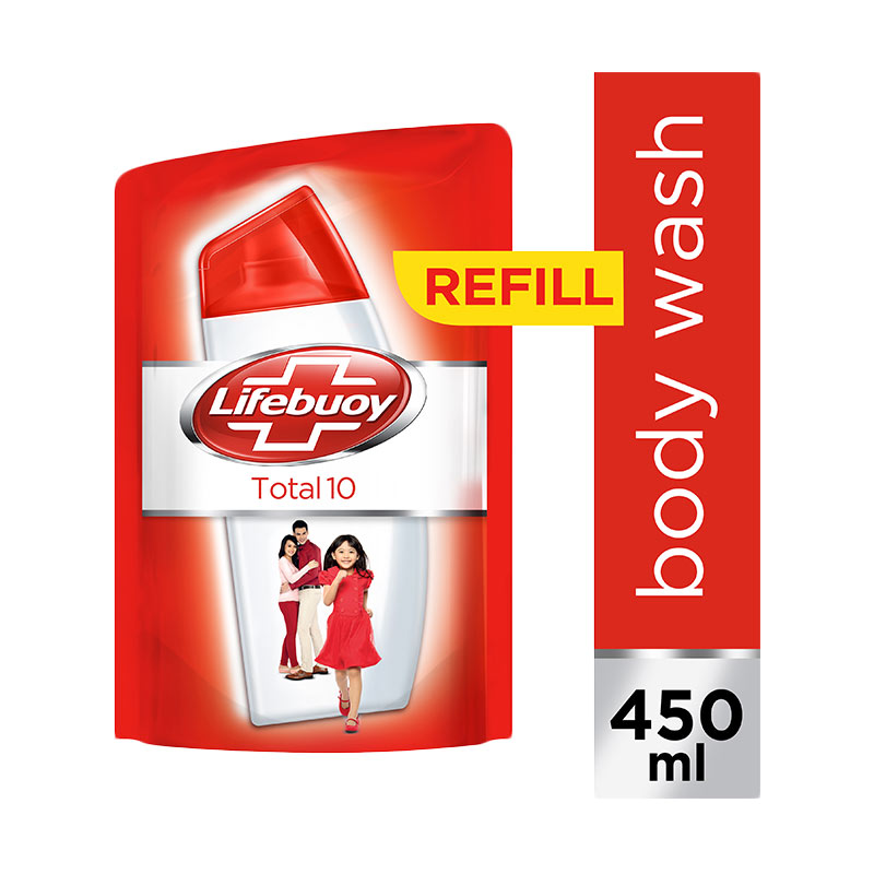 Lifebuoy Total10 Pouch Body Wash [450 mL/21145901]
