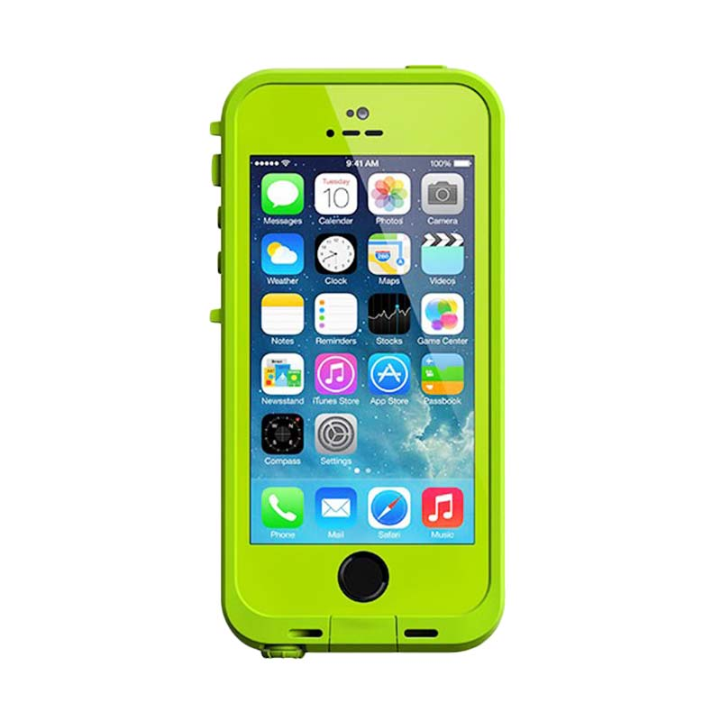 LifeProof Fre Casing for iPhone 5 or 5S - Lime