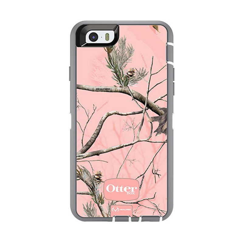 Otterbox Defender Casing for iPhone 6 - AP Pink Realtree
