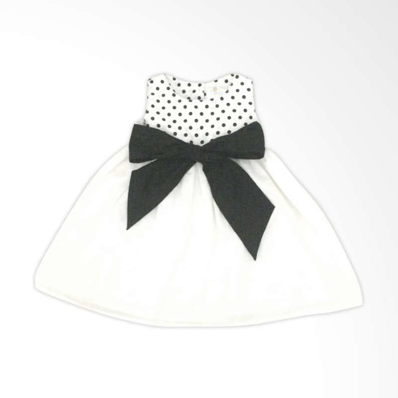 LilFireflies Emily White Dress Anak