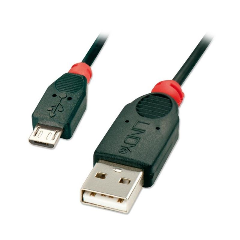 LINDY #31665 2.0 to Micro-B Cable USB Data Cable [2 m]