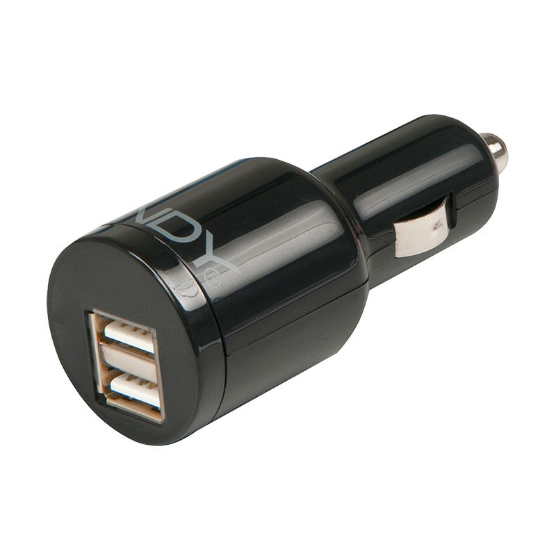 LINDY USB Car Charger [5V/3.1A/2 Ports]