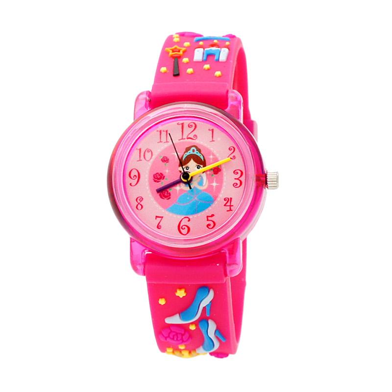Linkgraphix KT05 Princess Jam Tangan Anak - Pink