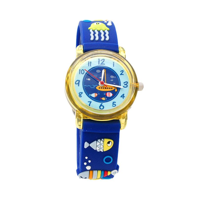 LinkGraphix KT07 Ocean Jam Tangan Anak - Blue