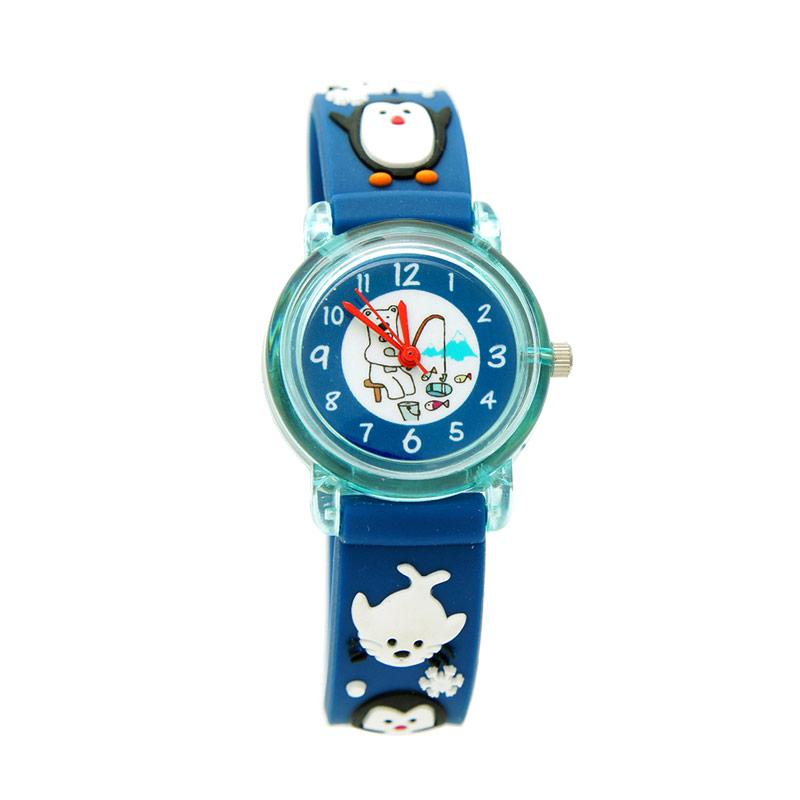 LinkGraphix KT16 Polar Jam Tangan Anak - Blue
