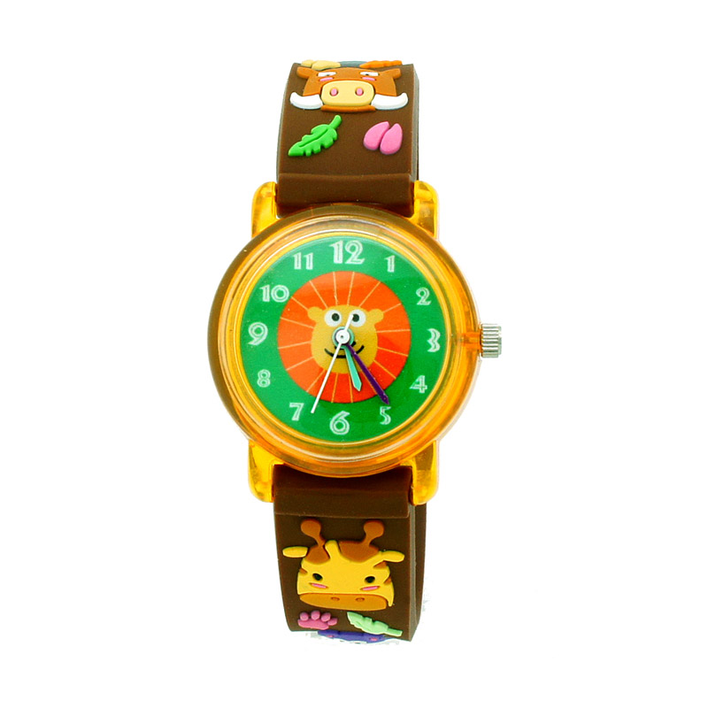 Linkgraphix KT26 Safari Jam Tangan Anak - Brown
