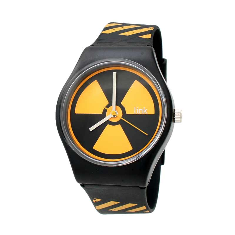Linkgraphix PD15 Hazard Jam Tangan Pria - Black