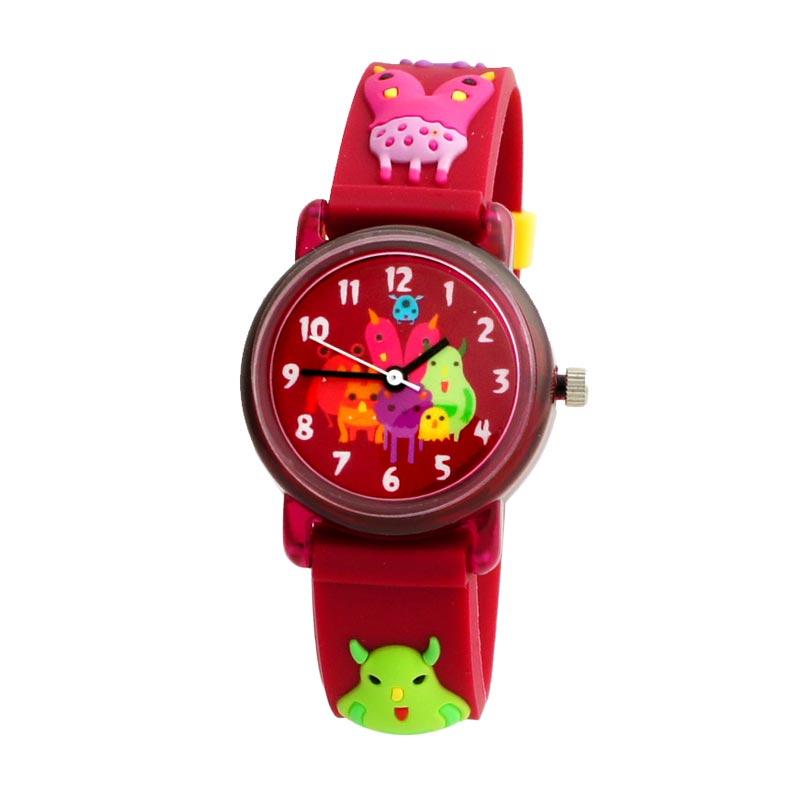 Linkgraphix Playhour KT22 Monster Red Jam Tangan Anak