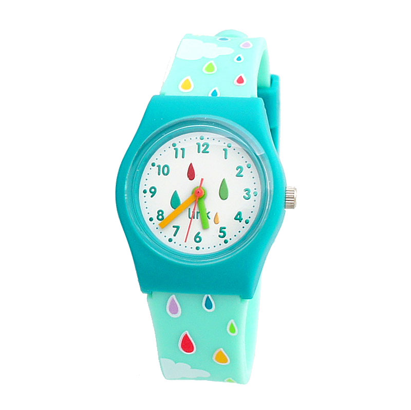 Linkgraphix Playhour PA05 Patter Green Jam Tangan