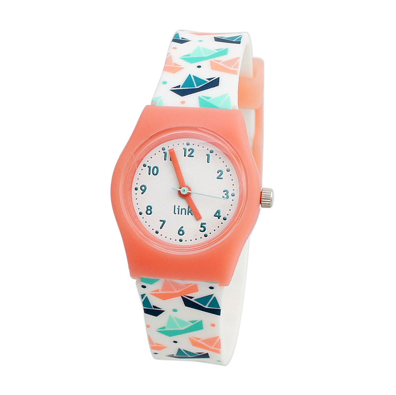 Linkgraphix Playhour PA06 Floating Peach Jam Tangan