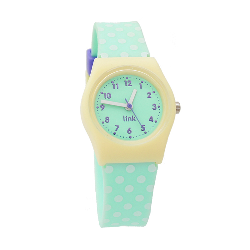 Linkgraphix Playhour PA07 Dotty Jam Tangan Wanita - Green