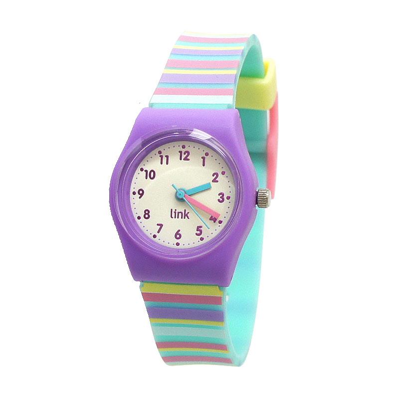 Linkgraphix Playhour PA08 Horizon Purple Jam Tangan