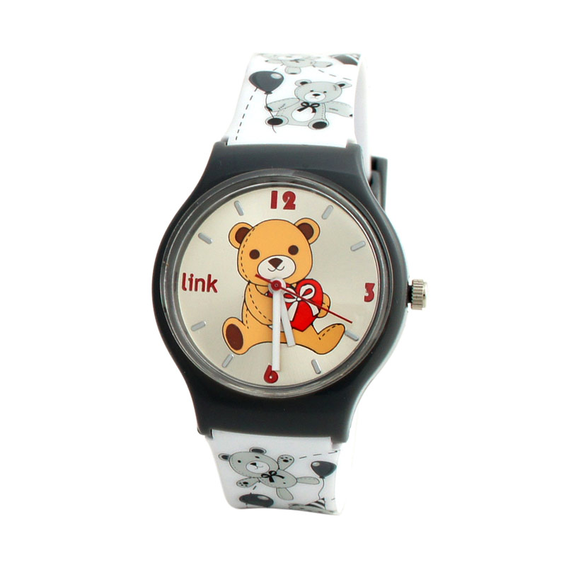 Linkgraphix Playhour PB58 Memory Grey Jam Tangan