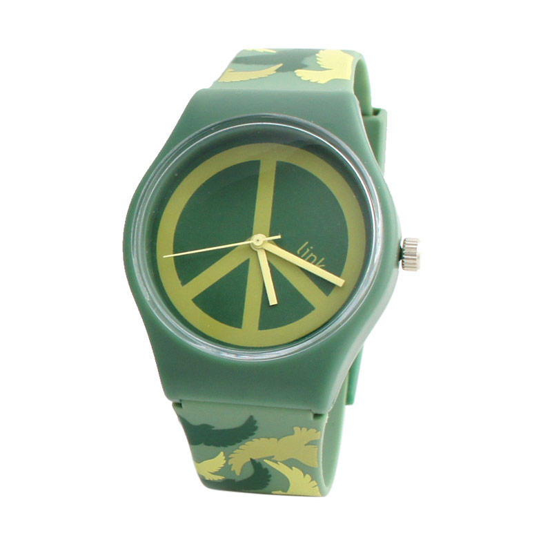 Linkgraphix Playhour PD17 Military Green Jam Tangan
