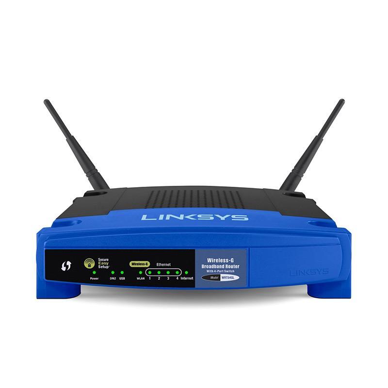 harga Linksys WRT54GL-AS Wireless-G Broadband Router Blibli.com