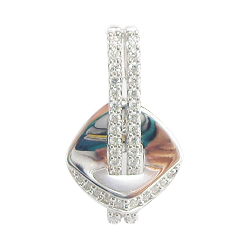 Lino LT1501015B Berlian Emas Putih Liontin [18 K]