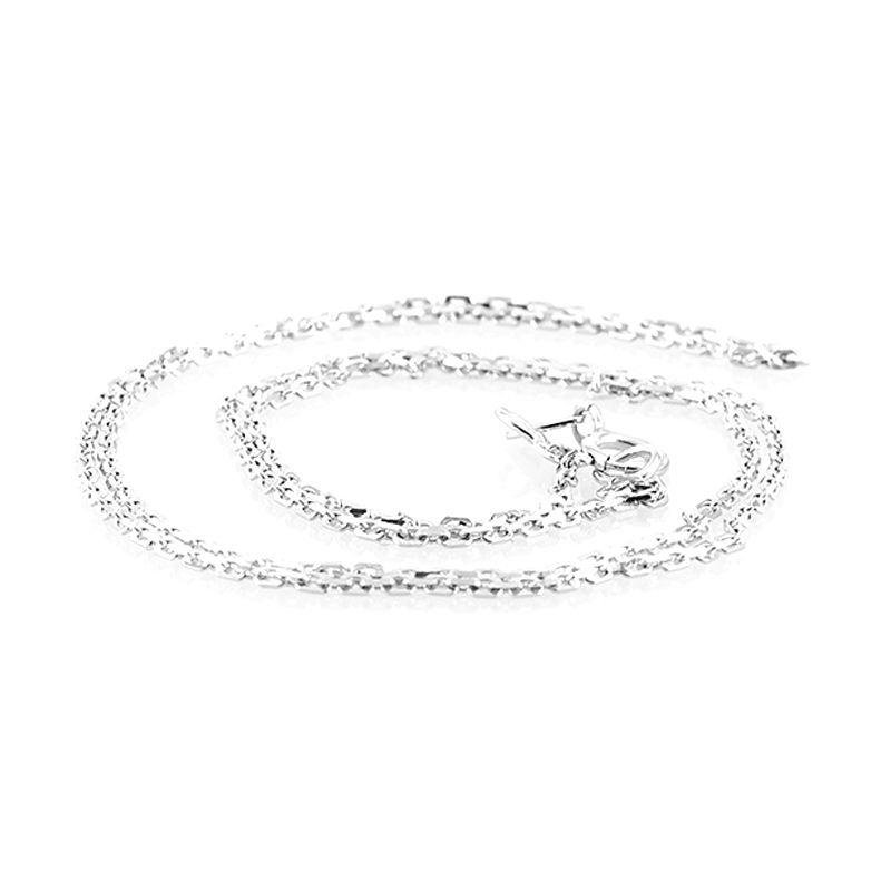 LINO PA1405007 Emas Putih Kalung [18 K]