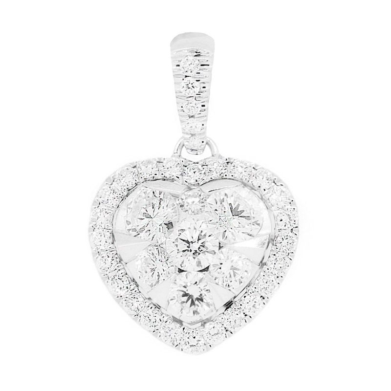 Lino S1508210120 Berlian Emas Putih Liontin [18 K]